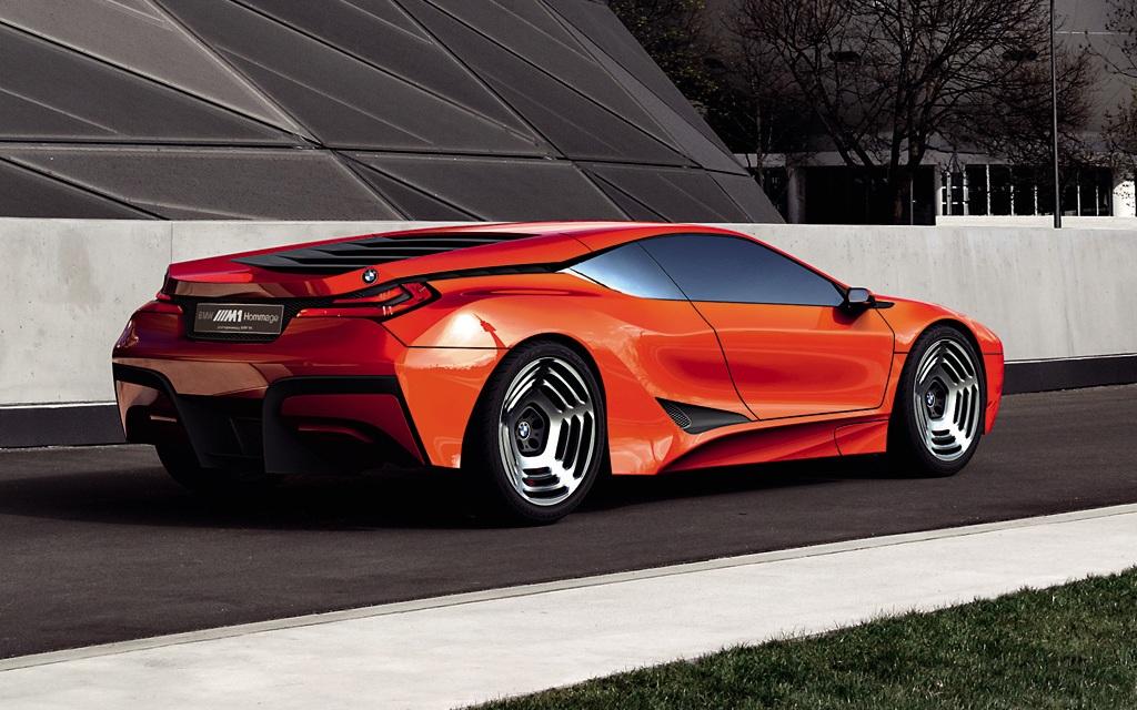 Bmw M1 Homage Concept 1 Big Man On Fire Design